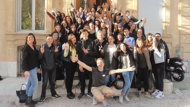 Les délégués de classe de Charles Péguy à Campagne Pastré (Marseille)