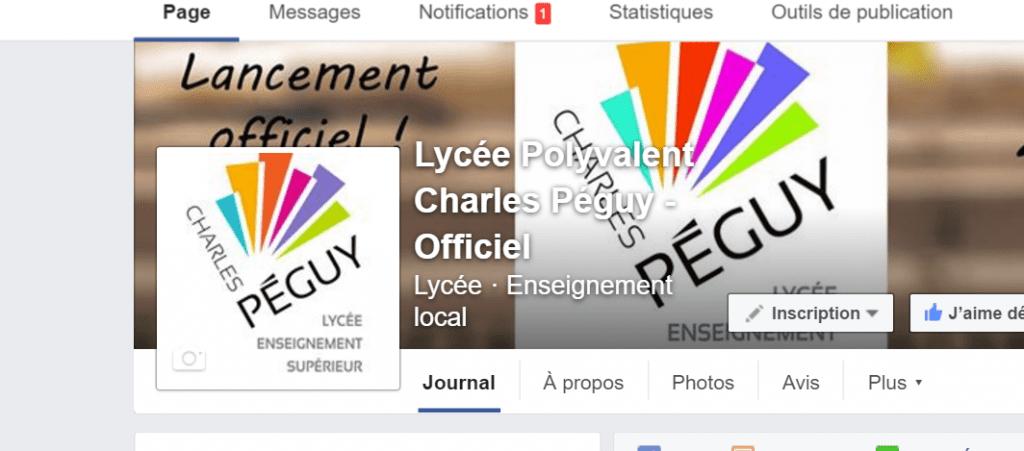 site Péguy facebook