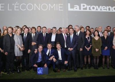 Peguy aux Trophées de l'économie de La Provence