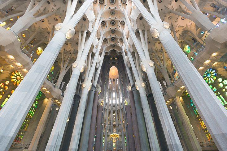Stratégie européenne: photo de la Sagrada Familia ©Stéphane Thiébaut