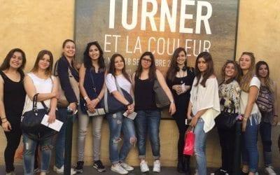 L'exposition Turner à Aix et les 1 ST2S 1