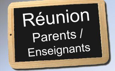 Une réunion parents-professeurs réussie