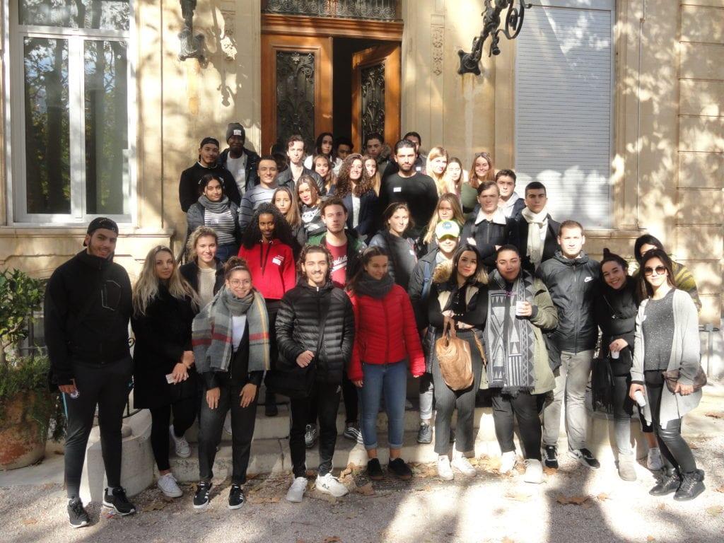 Les délégués de classe en formation à Pastré