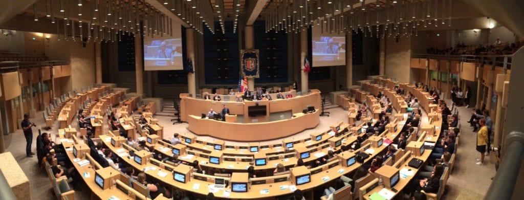 Hémicycle du Conseil Régional PACA