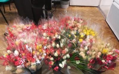 Des roses pour la vie