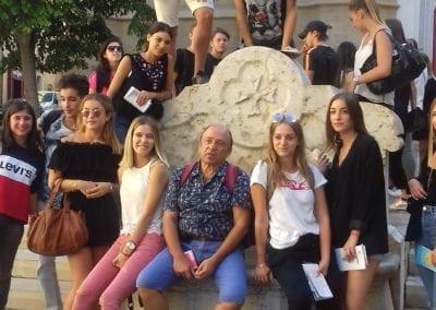 Etudiants du BTS SAM du Lycée Charles Péguy à Marseille