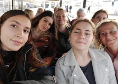 En Petit Train, une visite folklorique de la ville