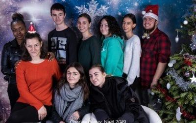 Nos élèves et étudiants fêtent Noël