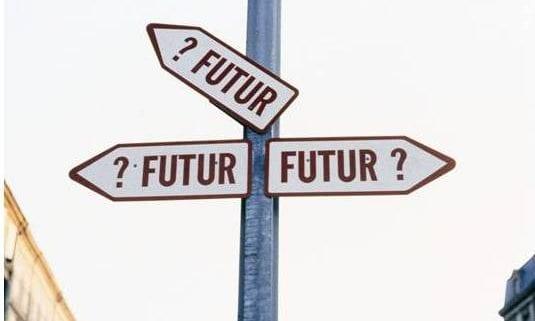 flèches directionnelles futur