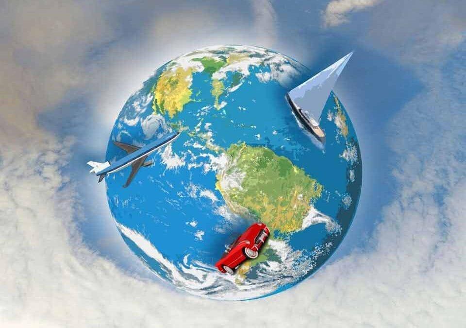 Globe et voyage en BTS Tourisme