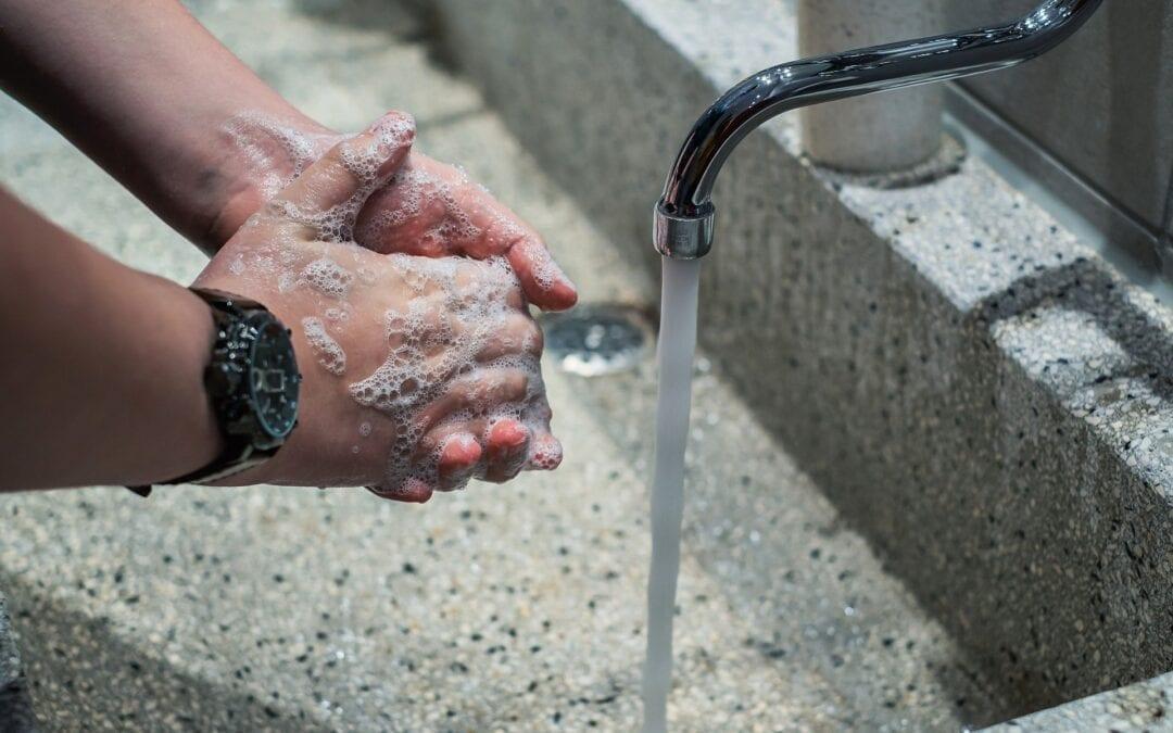 Mains lavées COVID 19