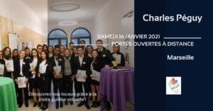 Portes Ouvertes de Charles Péguy le 16 janvier 2021