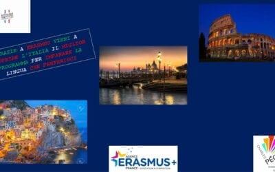 Une pluie de cadeaux pour  l' #Erasmusday