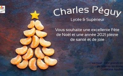 Charles Péguy vous souhaite de Belles Fêtes