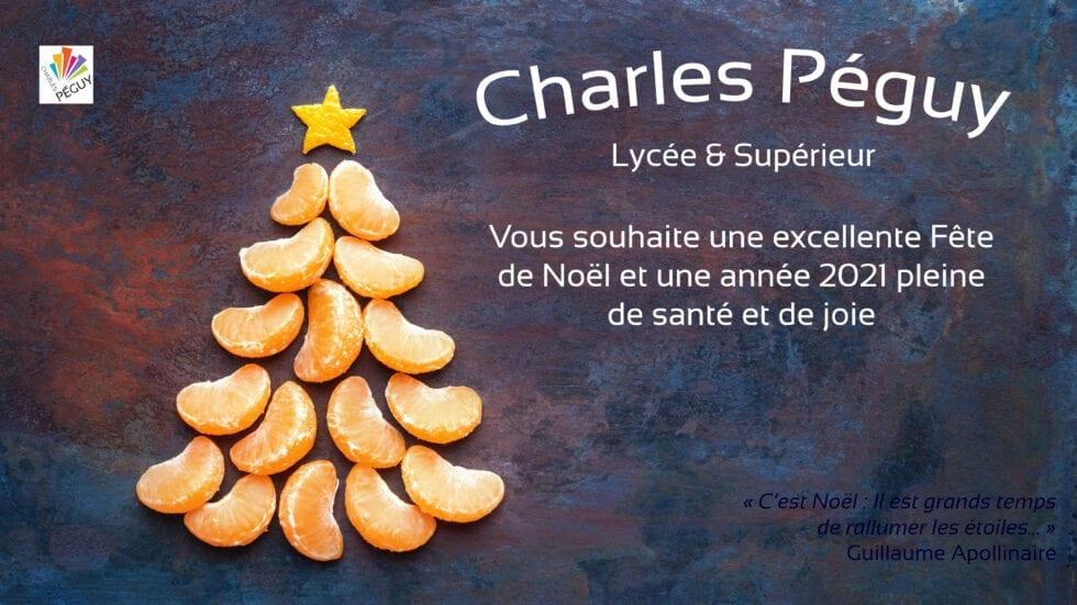 Charles Péguy Marseille vous présente ses vœux: Fêtes de fin d'année