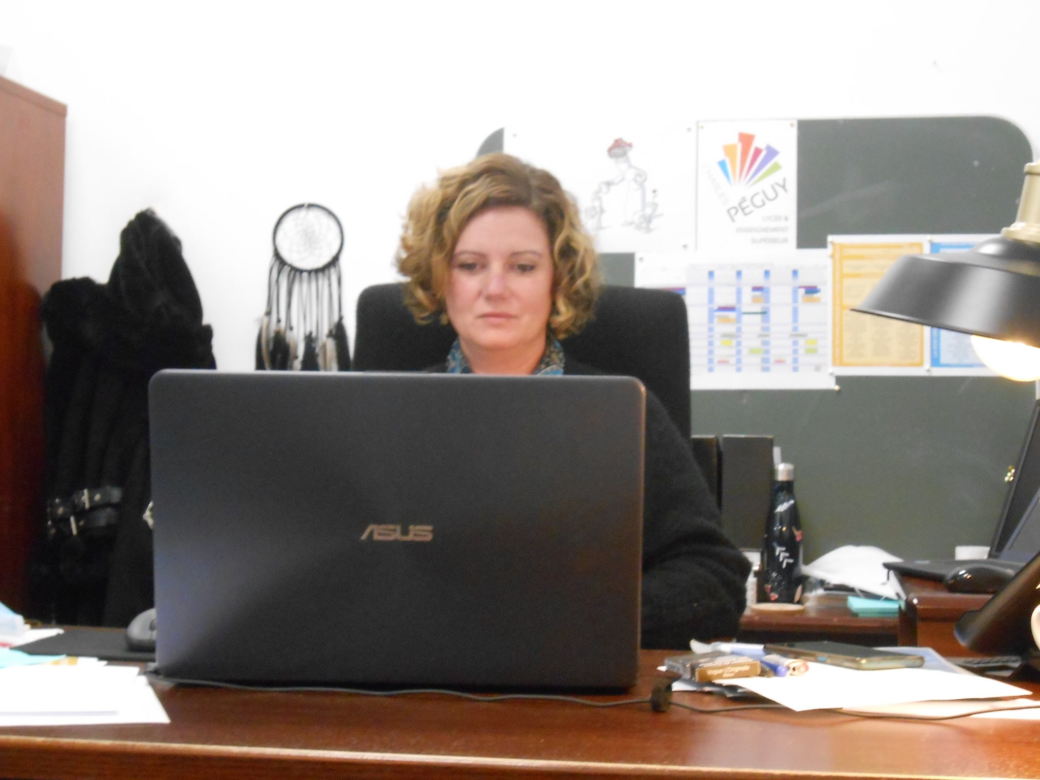 Madame Clara Riverain Directrice adjointe lors des Portes Ouvertes