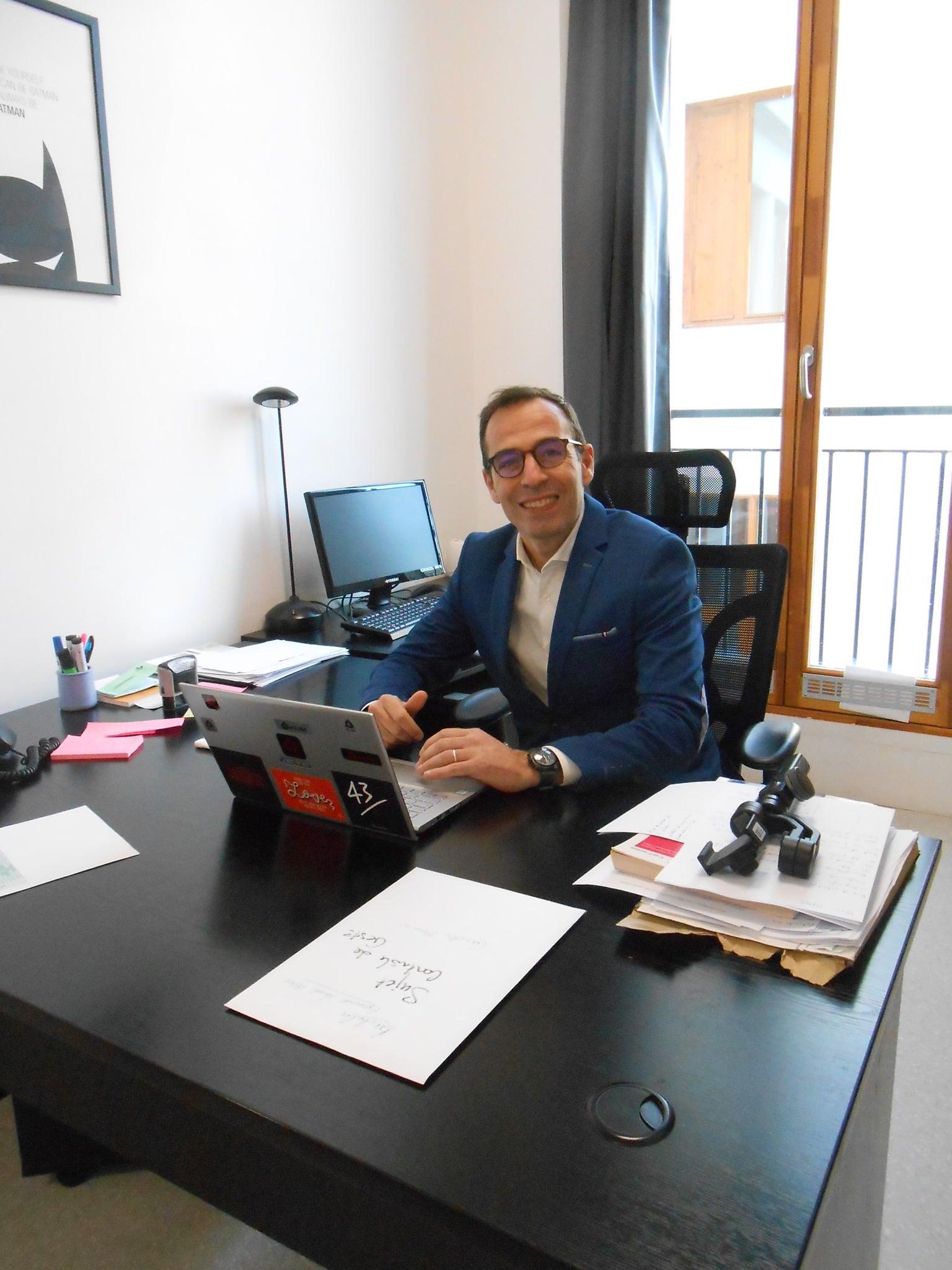 Monsieur Cédric Maury Directeur adjoint lors des Portes Ouvertes