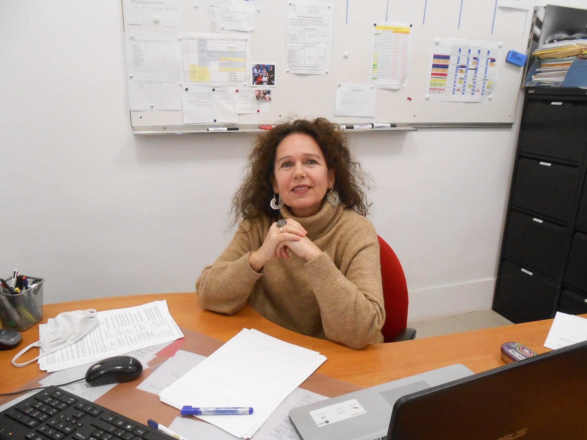 Madame Florence DOULLAY, Secrétaire et responsable de niveau