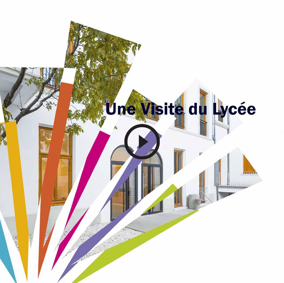 Image d'accroche de la vidéo de présentation du Lycée Charles Péguy à Marseille