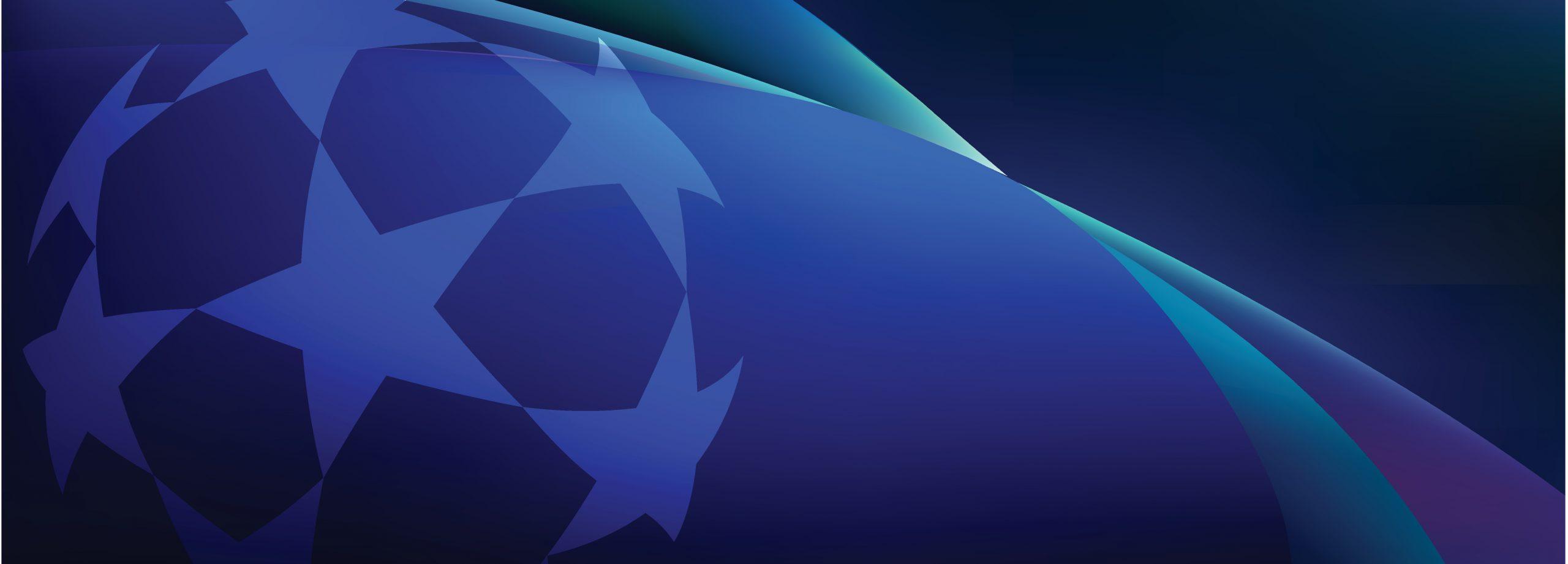 Etoiles du drapeau européen sur fond bleu